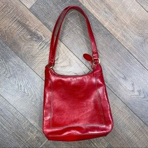 Rolfs Red Genuine Leather Bag
